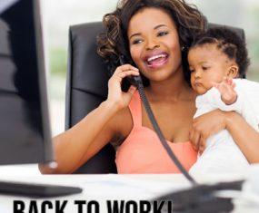 Preparing to go back to work while breastfeeding!