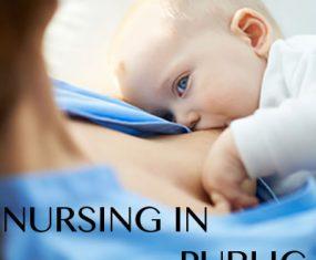 Nursing in Public – Getting Comfortable