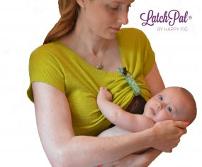 Latch Pal helps you see better to latch your baby